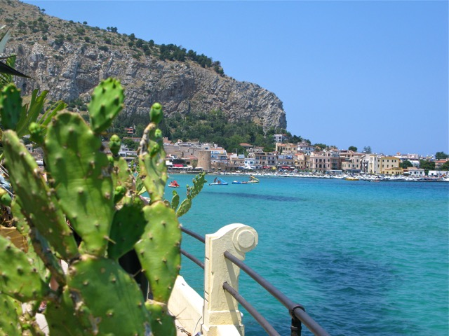 The beach town of Mondello